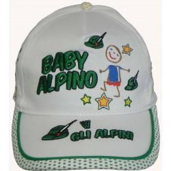 Cappello Visiera Baby Alpino