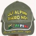 """Cappello Visiera """"Gli Alpini Siamo Noi"""""""