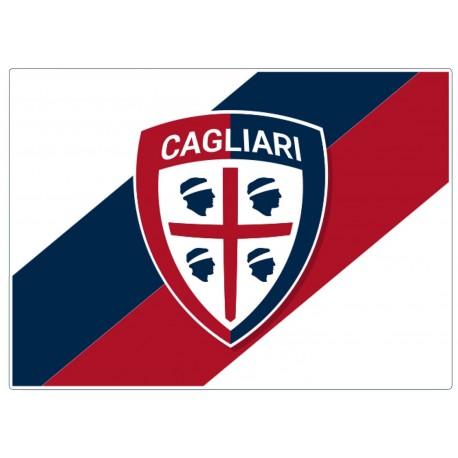 Bandiera Bianca Cagliari 100x140