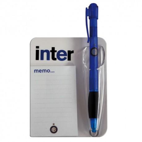 Block Notes + Penna Inter