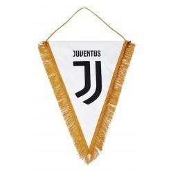 Gagliardetto Bianco Ricamato Juventus