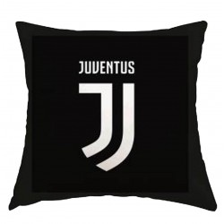Cuscino Nero Juventus