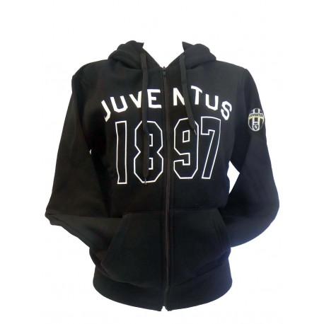 Felpa Nera Uomo Juventus 1897