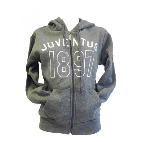 Felpa Grigia Uomo Juventus 1897