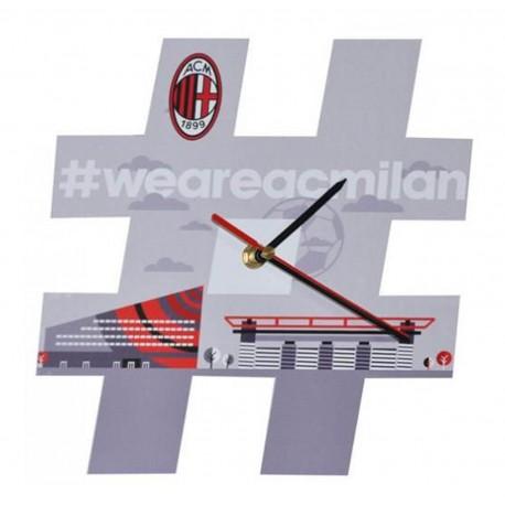 Orologio da Parete Hashtag Milan