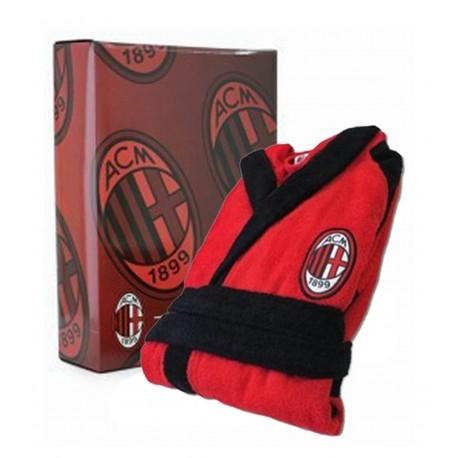 Accappatoio Spugna Adulto AC Milan