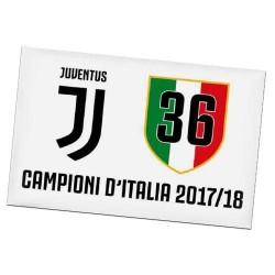 Magnete 36° Scudetto Juventus