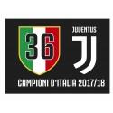 Bandiera 36° Scudetto Juventus