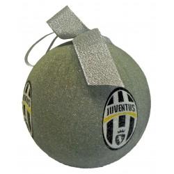 Palla di Natale Juventus Argento