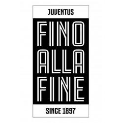 Telo Mare FINO ALLA FINE Juventus
