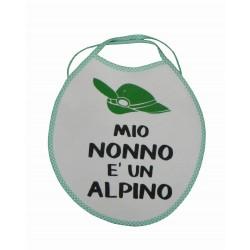 Bavaglino Nonno Alpino