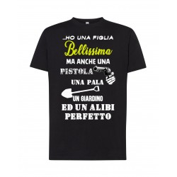 T-Shirt Figlia Bellissima