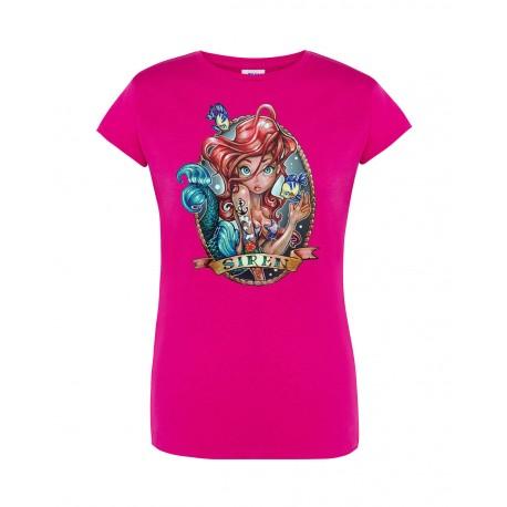 T-Shirt Donna Ariel Pin-Up
