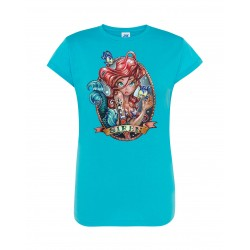 T-Shirt Donna Ariel Pin-Up