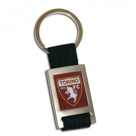 Portachiavi in Metallo e Stoffa Torino FC